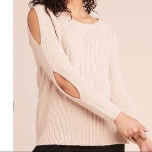 BB Dakota NWT Cold Shoulder Sweater